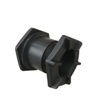 One-Way Water Drain Valve with Plug for Inflatable Boats - 8.4 to 10.5 Feet - Black - ALEKO
