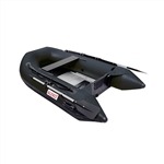 ALEKO® 8.4 Ft Inflatable Boat with Aluminum Floor - Grey