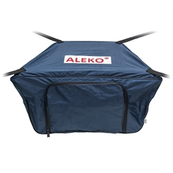 Front Bow Storage Bag for 10.5 Foot Boats -  26 x 15 Inches - Blue - ALEKO