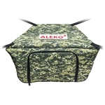 Front Bow Storage Bag for 10.5 Foot Boats -  26 x 15 Inches - Digital  - ALEKO