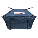 Front Bow Storage Bag for 12.5 Foot Boats -  19 x 30 Inches - Blue - ALEKO