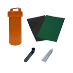 ALEKO® BTRKITGR Complete Essentials Inflatable Boat Repair Kit, Dark Green