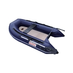 Inflatable Air Floor Sport Boat - 8.4 Foot - Blue - ALEKO