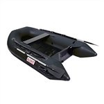 Inflatable Sport Boat with Pre-Installed Slide Slat Floor - 8.4 Foot - Black - ALEKO