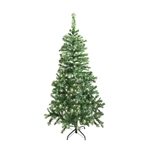 ALEKO® CT60H250WH Artificial Luscious 5 Feet (1.5 m) Lighted Christmas Holiday Pine Tree With 250 LED White Lights