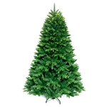 Ultra Lush Traditional Lifelike Artificial Indoor Christmas Holiday Tree - 6 Foot