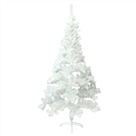 ALEKO® CTW83H13 Luscious Artificial Indoor 7 Feet (2.1 m) Christmas Holiday Pine Tree, White Color