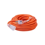 ALEKO  ECOI143G50FT ETL Heavy Duty 50 Foot Extension Cord SJTW Lighted Plug 14/3 Gauge, Orange
