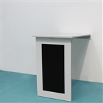 Wall Mounted Fold Out Convertible Table - White - ALEKO