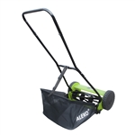 ALEKO GHPM16 5-Blade 16 Inch (40.6 cm) Hand Push Lawn Mower with Adjustable Cutting Height