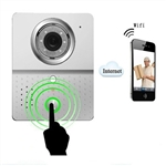 WiFi Wireless Visual Intercom Doorbell Security Camera Door Phone for Smartphones and Tablets - HL3601