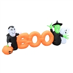 Inflatable BOO Halloween Friends - 8.5 Foot - ALEKO