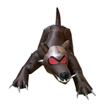 Inflatable Haunted Halloween Dog Hound - 6.5 Foot - ALEKO