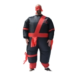 Halloween Inflatable Party Costume - Warrior Ninja Suit - Adult - ALEKO