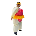 Halloween Inflatable Party Costume - Ballet Princess - Adult - ALEKO