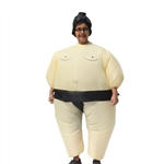 Halloween Inflatable Party Costume - Sumo Wrestler - Child - ALEKO