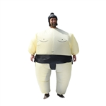 Halloween Inflatable Party Costume - Sumo Wrestler - Adult - ALEKO