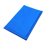 ALEKO® LCB-L Pet Cooling Mat Cool Bed 25.5 x 19.5 Inch Blue Pet Cooling Mat