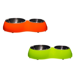 ALEKO® LPB1512 Double Diner Pet Bowl