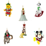 Disney Ornament Complete Set - 6 Collectible Christmas Characters