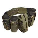ALEKO  PBAH1C Paintball Harness Belt Heavy Duty, Digital Camouflage Green Design