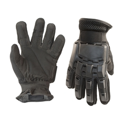 ALEKO PBFFG43 Paintball Airsoft Outdoor Sports Full Finger Black Gloves (Choose your size)
