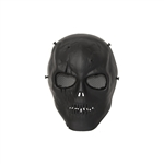 ALEKO  PBM221BK Skull Skeleton Airsoft Mask With Wire Mesh Goggles Tactical Paintball Airsoft Protective Safety Mask, Black