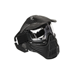 ALEKO PBM258BK Paintball Mask Tactical Anti Fog Mask with Double Elastic Strap, Black