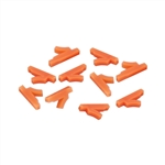 ALEKO PBTC24 Paintball Ball Latch Detent for Tippman 98 / A5 / X7 / FA-18, Set of 10, Orange