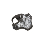 ALEKO  PBWMM27 Airsoft Metal Wire Mesh Protective Half Face Mask, Black And White