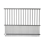 Steel DIY Pet Fence Panel - 72 x 46 Inches - Black - ALEKO