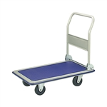 Heavy Duty Folding Hand Truck - Blue - ALEKO