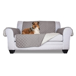 Pet Fur Protection Furniture Slipcover - 88 x 70 Inches - Gray - ALEKO