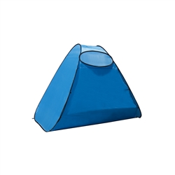 PTB16 Large Outdoor Portable Instant Pop Up Beach Sun Shelter Tent, Blue