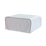 Weather-Resistant RV Air Conditioner Cover - 39 x 28 Inches - White - ALEKO