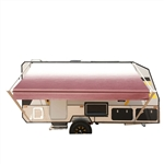 Retractable RV/Patio Awning - 13 x 8 Feet - Burgundy Fade - ALEKO