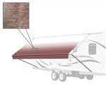 10'X8' RV Awning Fabric - Brown Fade - ALEKO