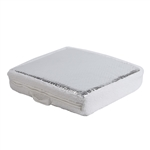 Lightweight RV Vent/Skylight Insulator Cover with Reflective Surface - White and Silver - ALEKO