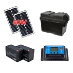 Solar Kit for Gate Openers - 60W