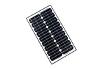 ALEKO® Solar Panel Monocrystalline 30W for any DC 12V Application (gate opener, portable charging system, etc.)