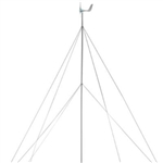 ALEKO® T30 Wind Generator Tower 30 Ft