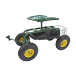 ALEKO TC4501C Garden Cart With Tray and Seat