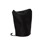 Weather-Resistant Electric Tongue Jack Cover - 20 Inches - Black - ALEKO