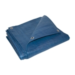 ALEKO® TR12X12BL 12X12 Feet Heavy Duty Tarp Multi-Purpose All Weather Polyethylene Tarpaulin, Blue
