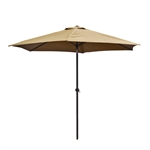 9 Ft Outdoor Umbrella, Sand Color