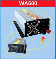 ALEKO® 600 Watt Power Inverter 12V DC to 120V AC